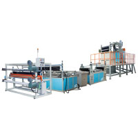 Línea de máquinas extrusión de malla estirable doble, de Everplast Machinery Co., Ltd