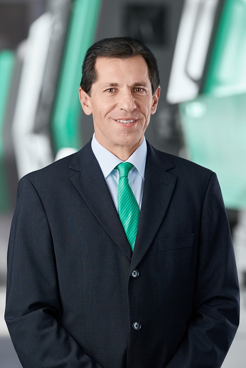 Guillermo Fasterling, director general de Arburg México.