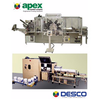 Impresoras offset Apex y Desco, de Plastec USA.