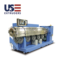 Extrusoras monotornillo US Extruders, de Plastec USA.